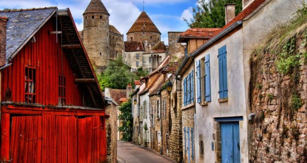 Beaune: many of the  old buildings have been restored making it a very pleasant town to stroll around, with plenty of shops offering wine, food and much more