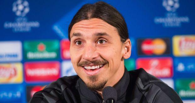 Image result for Zlatan in press