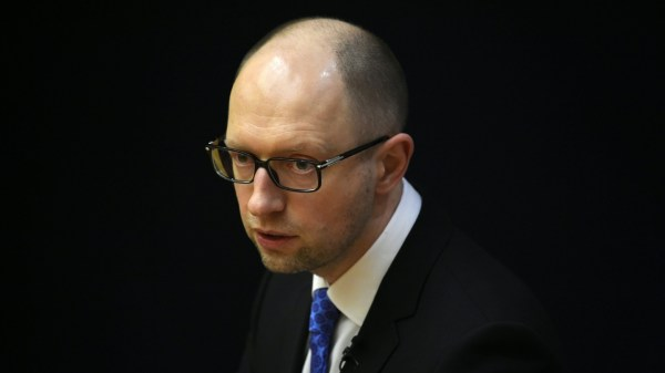 Ukrainian prime minister Arseniy Yatsenyuk to resign
