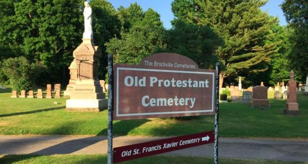 Protestant Graveyard, Brockville, Ontario