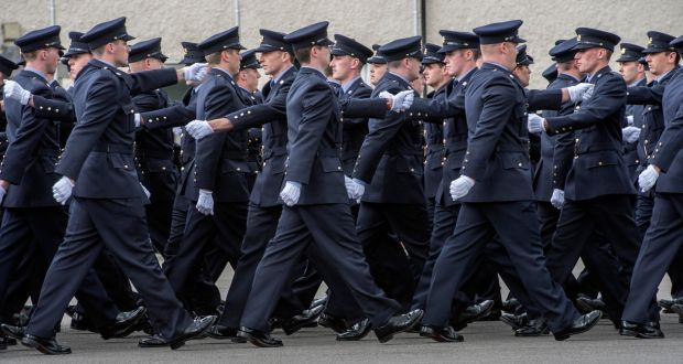 More than 3,000 new gardaí will be hired over next four years.  Photograph: Brenda Fitzsimons/The Irish Times