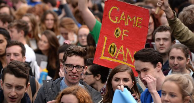 Image result for Ireland's student unions warn against introducing a loan scheme