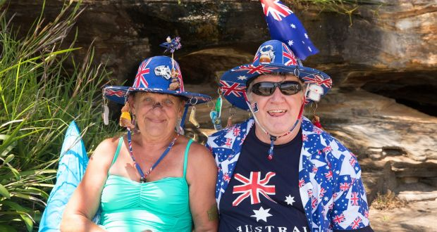 Australians celebrate Australia Day in Sydney on January 26th, 2016. Photograph: Steve Christo/Corbis via Getty Images