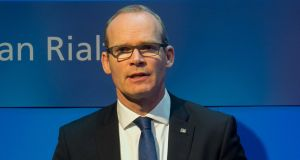 Image result for Simon Coveney would play hardball with Fianna Fáil over the rent cap issue