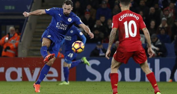 Image result for drinkwater goal over liverpool