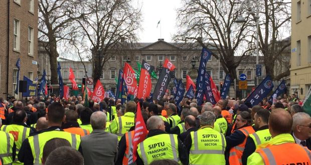 Image result for Bus Eireann Unions may halt strike when a  proposal issue is settled
