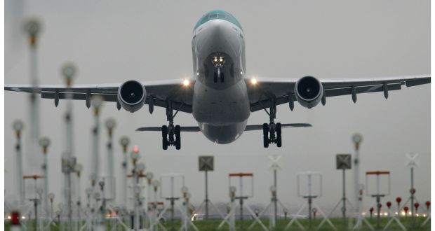 Dublin Airport: the DAA  sees the appointment of a noise regulator as central to it getting a planning condition limiting night time flights lifted. Photograph: Alan Betson