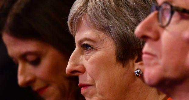Britain's prime minister Theresa May: EU27 must take appropriate account of Britain's interests even as Britain itself struggles intellectually and politically. Photograph: Ben Stansall/AFP