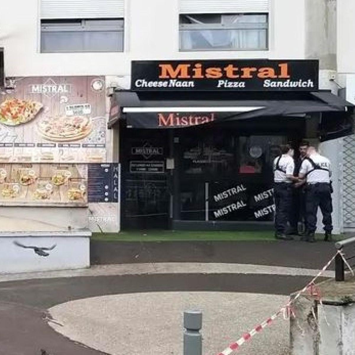 waiter shot dead by enraged customer