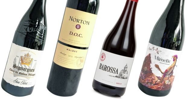 Three of this week's wines cost less than €12, the other less than €20. All four should help ward off those winter blues