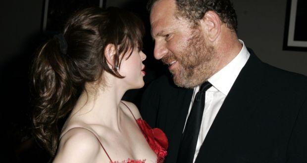Rose McGowan and Harvey Weinstein. Photograph:  J Vespa/WireImage