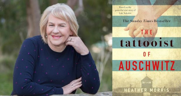 The Tattooist of Auschwitz by Heather Morris, a Holocaust love story based on a true story