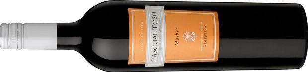 Pascual Toso Malbec 2017, Mendoza Argentina, 13.5%, €13.95-14.95
