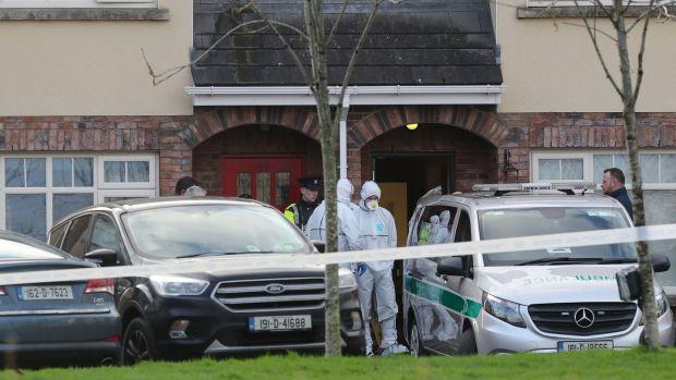 The scene at Parsons Court on Saturday morning. Photograph: Nick Bradshaw/The Irish Times