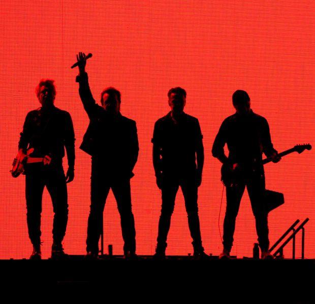 Global stars: U2 in concert in Seoul, South Korea in December 2019. Photograph: Jim Watson/AFP via Getty