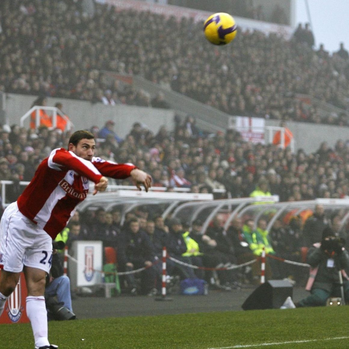 All in the Game: Did Rory Delap's long throws cause the 2008 financial  crash?
