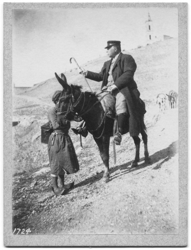 James Tissot in the Holy Land, anonymous photography, Frédéric Mantion Collection