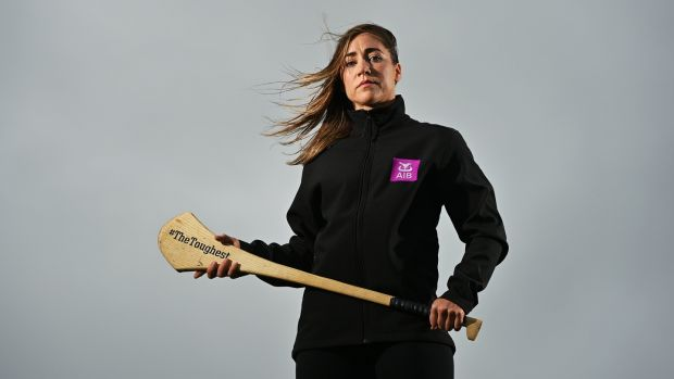 Cappataggle and Galway Camogie player Caitriona Cormican in the thirrd episode of The Toughest Summer. Photograph: Sportsfile