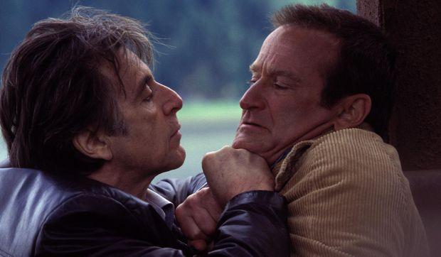 Al Pacino and Robin Williams in Insomnia.