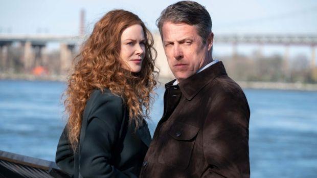 Nicole Kidman and Hugh Grant in The Undoing