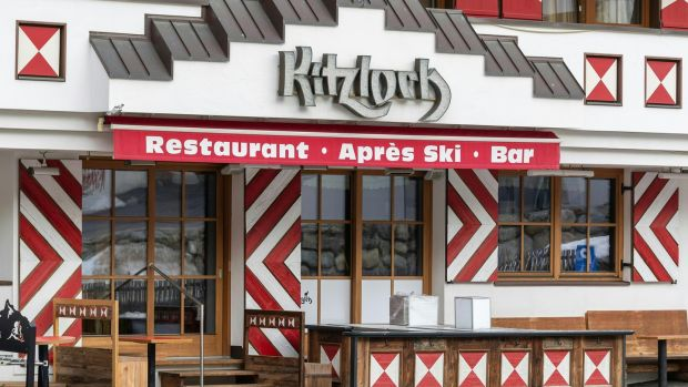 On March 9th an Austrian news agency announced that 15 people who had been in contact with a Kitzloch barman in Ischgl had tested positive. Photograph: AFP via Getty Images