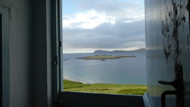 """The view from the half door. """"I like just leaning on the half-door and looking out"""""""