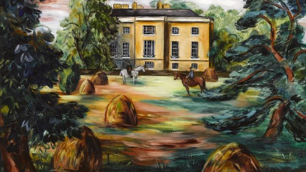 Newtownpark House, Blackrock by Norah McGuinness (Lot 45 €15,000–€20,000)