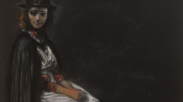 The Tallyman's Wife by Sean Keating (Lot 41 €3,000–€5,000)