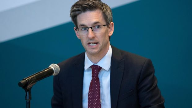 Acting chief medical officer Dr Ronan Glynn raised concerns about rising infections in Louth, Waterford and Donegal, where one in three cases are in people aged 15 to 24. Photograph: Colin Keegan/Collins Dublin