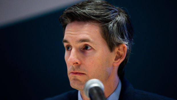 Dr Ronan Glynn, the State's acting chief medical officer outlined the new figures. Photograph: Tom Honan/The Irish Times.