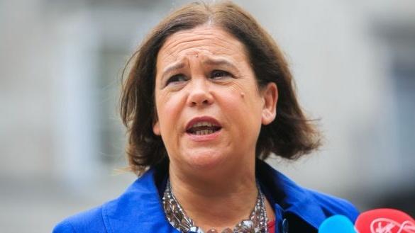 Sinn Féin leader Mary Lou McDonald. File photograph: Gareth Chaney/Collins