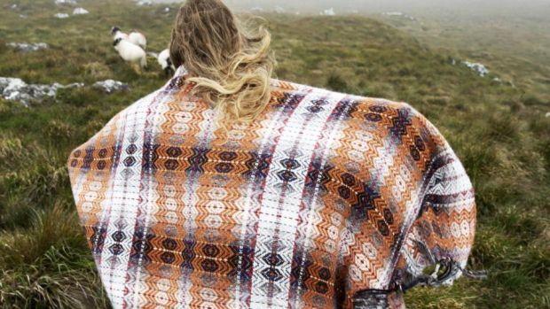 Weaving by Molloy + Sons in Ardara, Co Donegal: the family's weaving heritage spans five generations and create authentic Donegal tweed. molloyandsons.com
