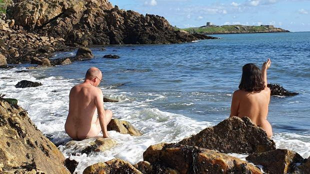 'If you can be confident naked, there's very few other scenarios where you're not going to feel comfortable.' Photograph: Irish Naturists Association