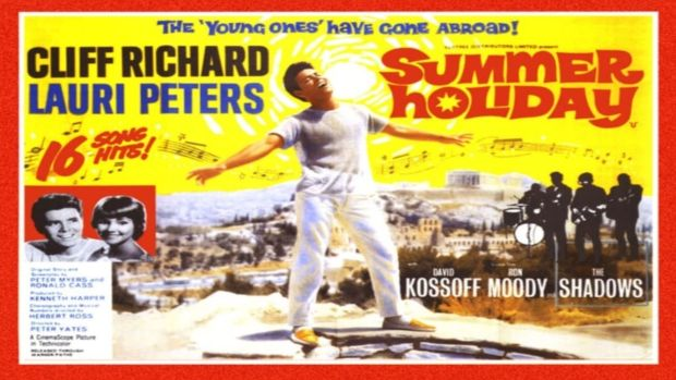 Promotional art for Cliff Richard's Summer Holiday (1963)