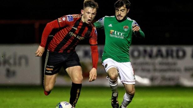 Bohs outclass Cork to narrow gap on Shamrock Rovers