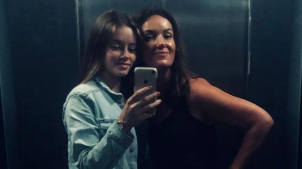 Ciara Kelly and her daughter