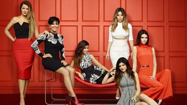 Keeping up with the Kardashians began in 2007. File photogrpah: E! publicity shot