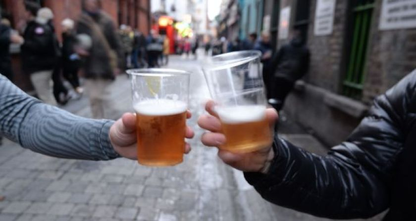Minister for Health Stephen Donnelly plans to bring proposals to Cabinet on Tuesday to ban takeaway sales from pubs for the remainder of the Level 5 lockdown. Photograph: Alan Betson/The Irish Times.