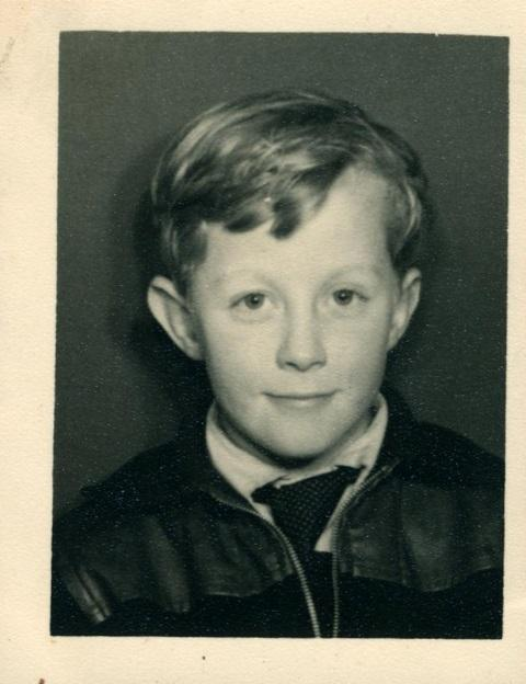 Mike Harding as a boy