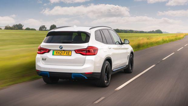 BMW iX3: drives great on Irish roads