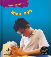 Bookcover: Blind zijn
