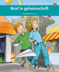 Bookkcover: Brief in geheimschrift