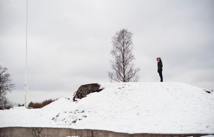 Iris Zaagman - Wandelen in Helsinki