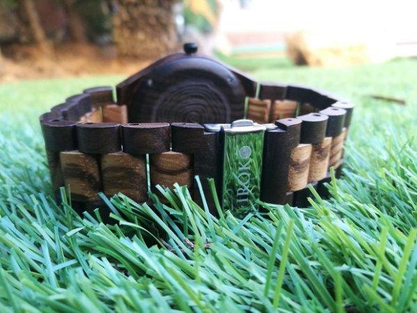 iroko watches reloj de madera tramontana