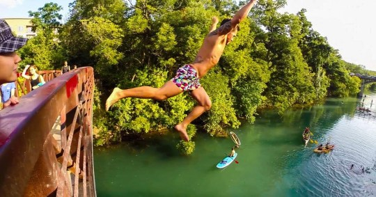 Jumping off the Bridge