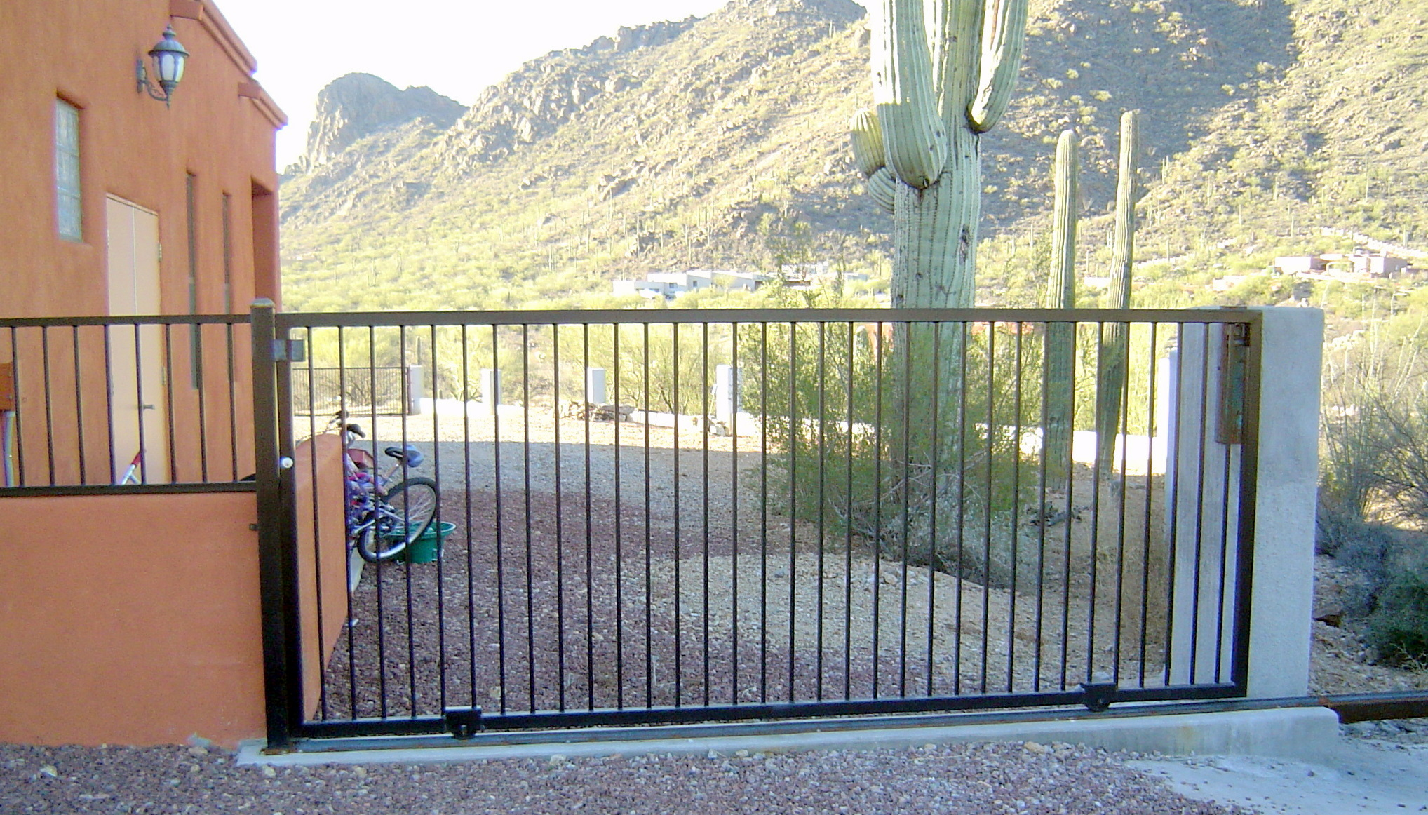 Drive Gate On Guide Rail IronCraft In AZ