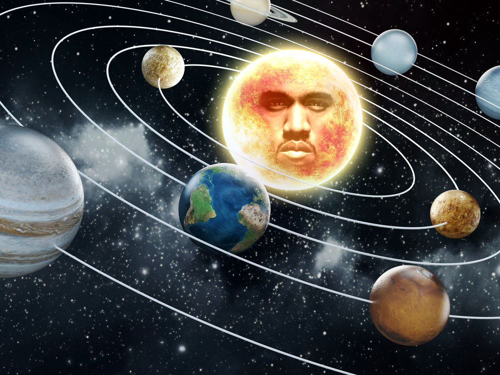 NASA Scientists Confirm World does Revolve around Kanye West