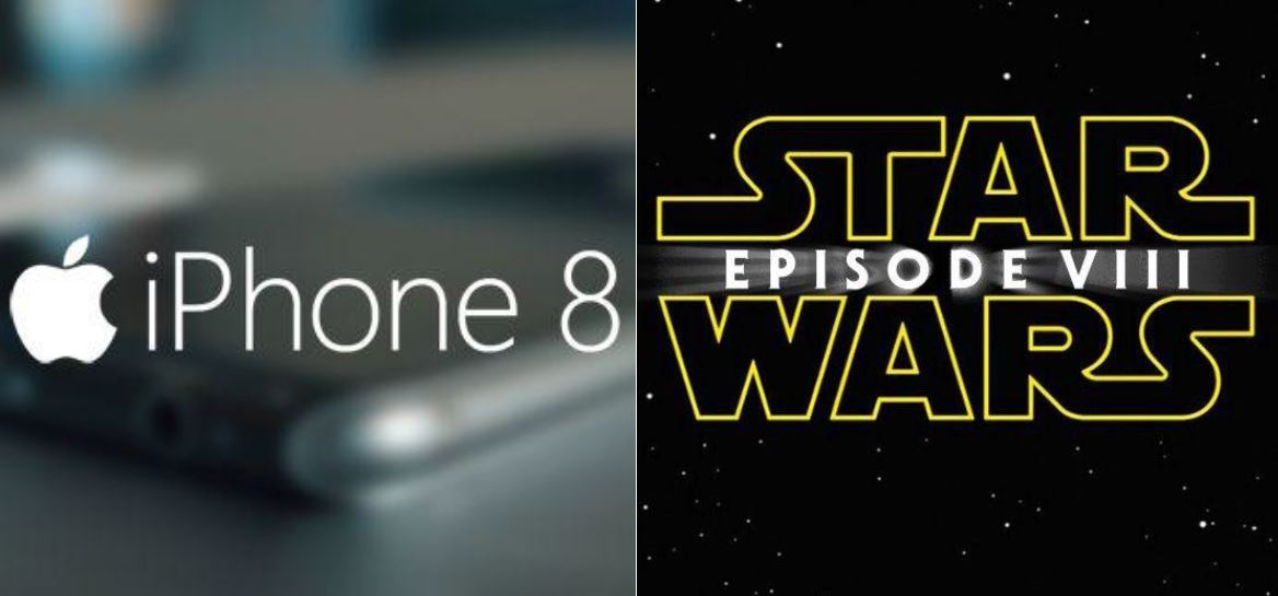 iPhone 8 and Star Wars 8 Released the Same Year!--Coincidence? Probably