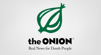 Iron E-News Quietly Wins Award over The Onion and Possibly Entire Internet