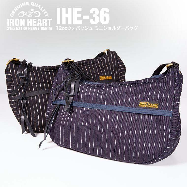 【IHE-336】12ozウォバッシュ ミニショルダーバッグ